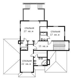 План 2 этажа Лион