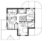 План 2 этажа Лотос-2