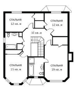 План 2 этажа Люцерн