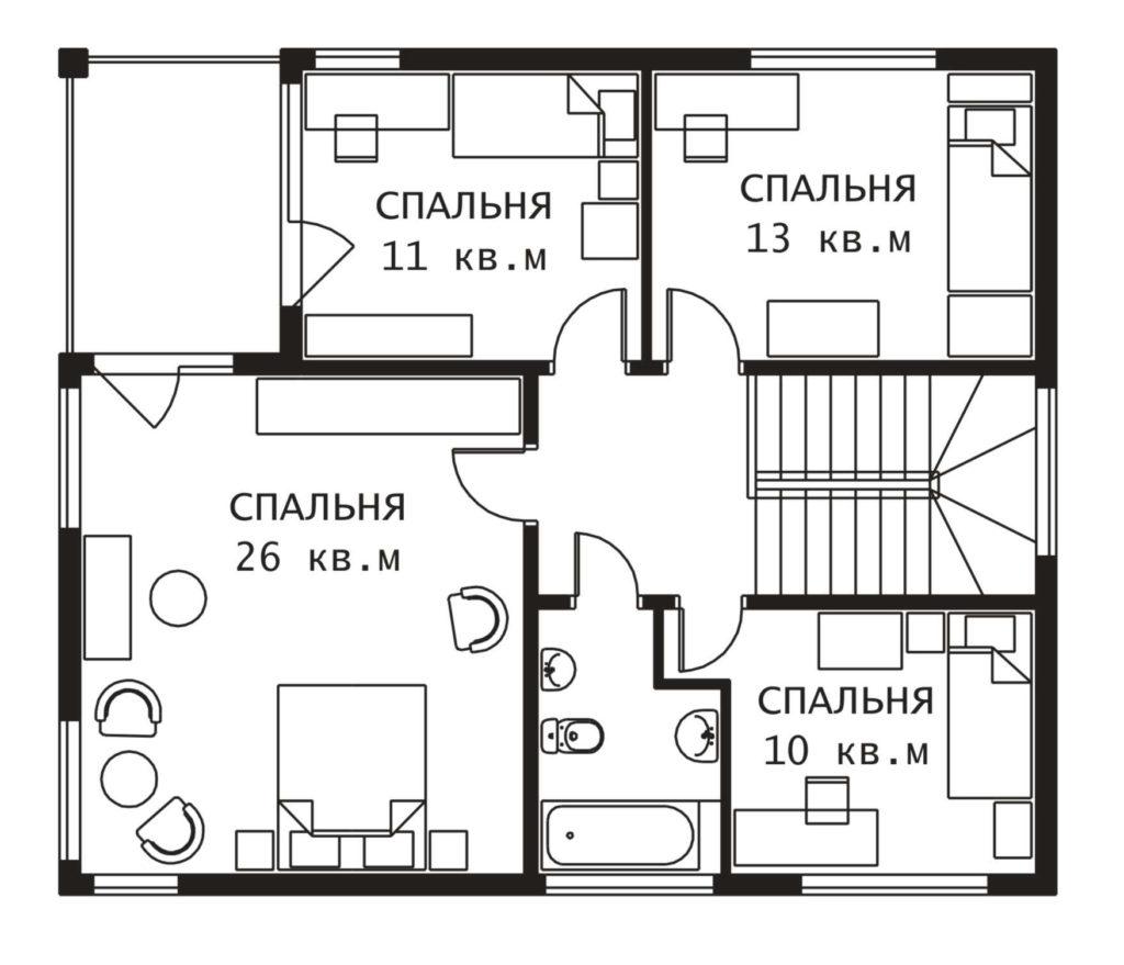 План 2 этажа Веймар