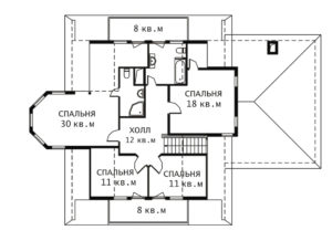 План 2 этажа Жанна