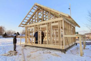 Строим каркасный дом круглый год